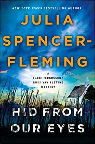 """Book cover: """"Hid From Our Eyes"""" by Julia Spencer-Fleming"""