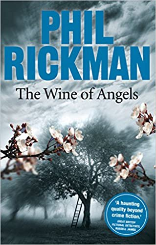 """Book cover: """"The Wine of Angels"""" by Phil Rickman"""